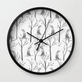 WINTER WEIMS Wall Clock