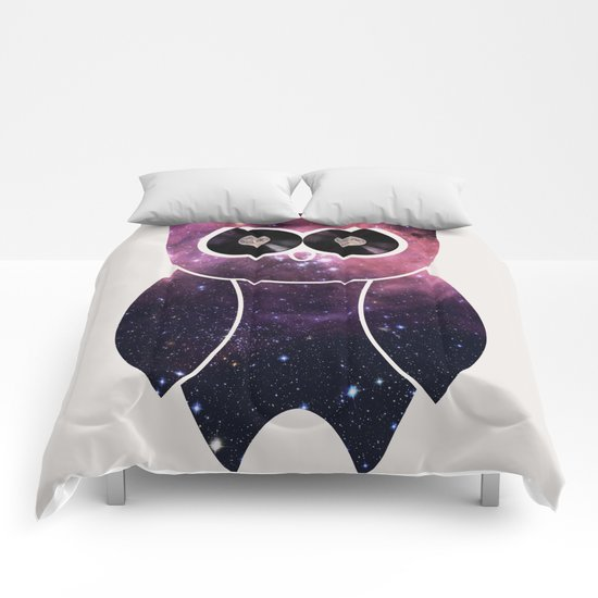 Owl Night Long Comforters