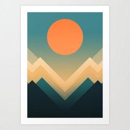 Inca Art Print