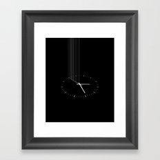 Interstellar watch Framed Art Print