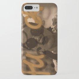 Gold F Bomb iPhone Case