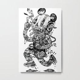 Dickhead Metal Print