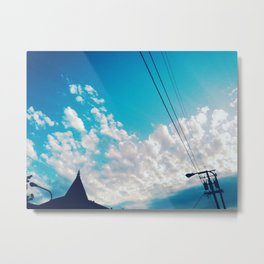 [to infinity and beyond] Metal Print