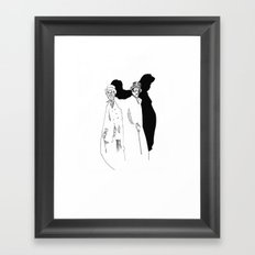 Hyde Framed Art Print