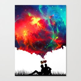 LOVERS Canvas Print