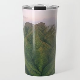 Clouds over the Koʻolau Mountains on Oahu Travel Mug