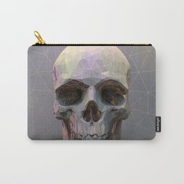 Skull Colorful Wires 1 Carry-All Pouch