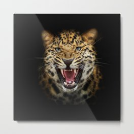 Leopard Domination  Metal Print
