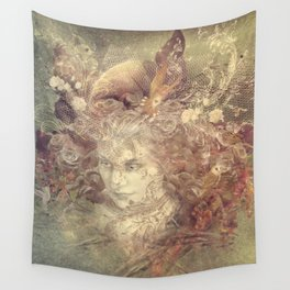 Element-mother earth Wall Tapestry