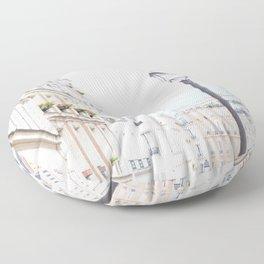 Montmartre in Paris Floor Pillow
