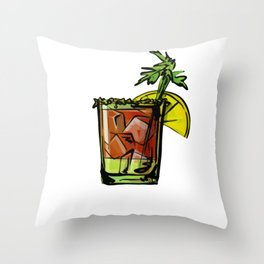 Bloody Mary A Bloody Mary Made Me Do It Brunch Gift Throw Pillow