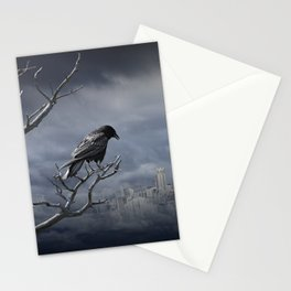 Observing the City Below Stationery Cards