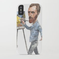 Van Gogh Paints Night Cafe Slim Case iPhone X