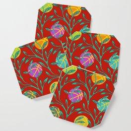 Basketball Flowers Coaster