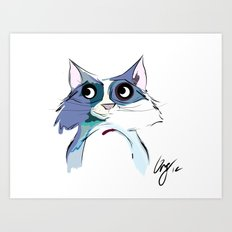 Hi, Simon Art Print