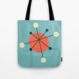 Mid century atomic design Tote Bag
