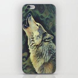 A Wolf Call iPhone Skin