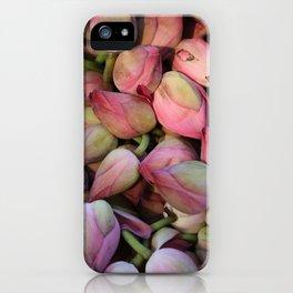 Lotos Flower iPhone Case