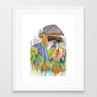 notorious Framed Art Prints featuring Notorious by Jake Franssen