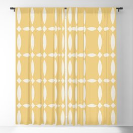 Vintage Jewels - Citrine Blackout Curtain