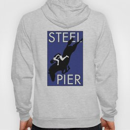 Atlantic City, NJ  Steel Pier Diving Horse Hoody