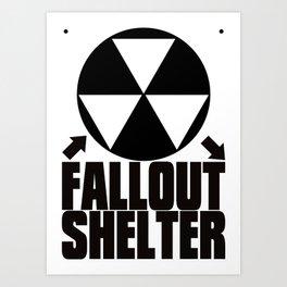 Fallout_Shelter Art Print