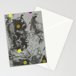 Walking Away from Certain Doom Stationery Cards