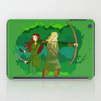 legolas iPad Cases featuring Legolas by hikary
