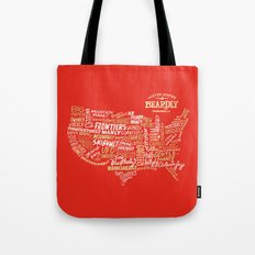 UNITED STATES OF BEARDLY Tote Bag
