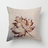 concrete Throw Pillows featuring Concrete by PandaBaby