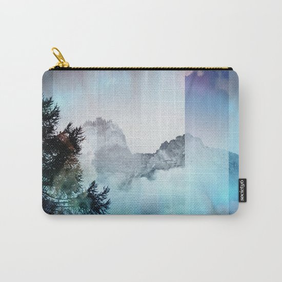 Boreal Lights on the Mountains Carry-All Pouch