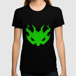 Pixel Invader : Green T-shirt
