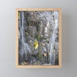 small watercourse, color photo Framed Mini Art Print