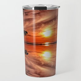 The lone tree Travel Mug