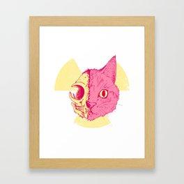 SCHRODINGERS CAT Framed Art Print