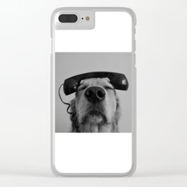 Hello, This is Dog Clear iPhone Case