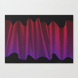 .wav Canvas Print