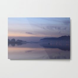sunset on the clyde  Metal Print