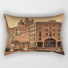 World famous Three Graces (Digital painting) Rectangular Pillow