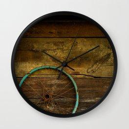 Re-cycled Art Wall Clock