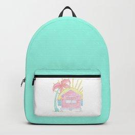 Beach Shack Vibes Backpack