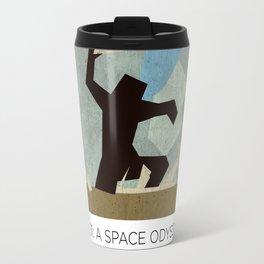 Minimalist 2001: A space odyssey (2) Travel Mug
