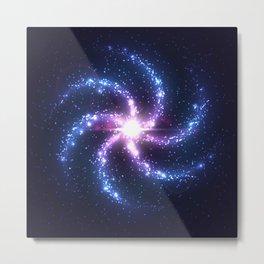Beautiful Spiral Galaxy Metal Print