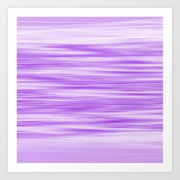 Abstract flowing ultra-violet stripes Art Print