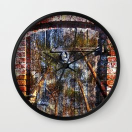 Door into the Forest  Wall Clock