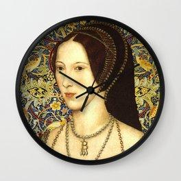 Queen Anne Boleyn Wall Clock