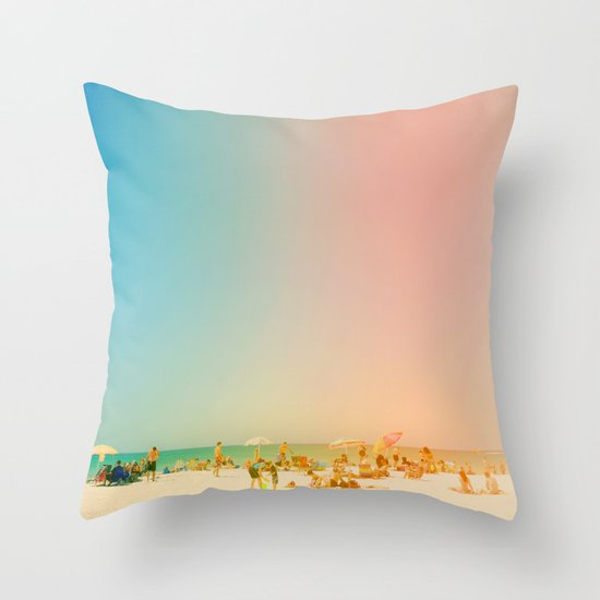 Life in the Sun Throw Pillow