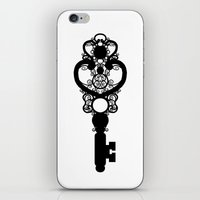 key iPhone & iPod Skins featuring Key by Thedustyphoenix