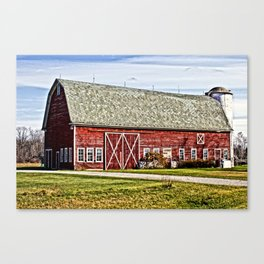 Wisconsin Old Barn 4 Canvas Print