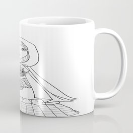 Little Red Riding Hood Visits Grandma Coffee Mug